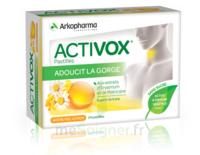 Activox Sans Sucre Pastilles Miel Citron B/24 à Ris-Orangis