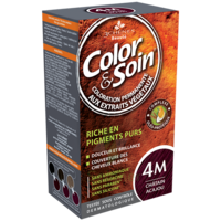 Color&soin Kit Coloration Permanente 4m Châtain Acajou à Ris-Orangis