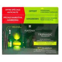 René Furterer Triphasic Progressive Sérum Antichute Coffret 8 Flacons X 5,5ml + Shampoing Stimulant 100 Ml à Ris-Orangis