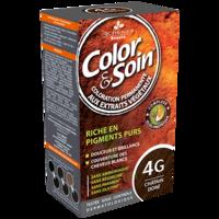COLOR&SOIN Kit coloration permanente 4G châtain doré à Ris-Orangis