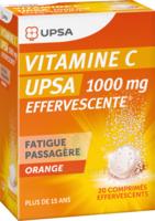Vitamine C Upsa Effervescente 1000 Mg, Comprimé Effervescent à Ris-Orangis